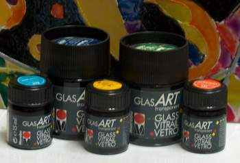 Production Marabu glasART