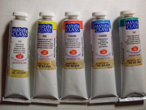 Production Master-Class oil paints